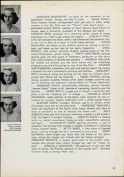 Notre Dame Cathedral Latin School - Yearbook (Chardon, OH) online yearbook collection, 1943 Edition, Page 87