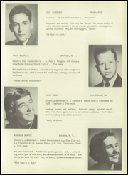 Oakwood School - Quercus Yearbook (Poughkeepsie, NY) online yearbook collection, 1951 Edition, Page 13