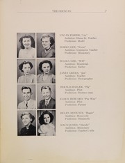 Odon Madison High School - Odonian Yearbook (Odon, IN) online yearbook collection, 1950 Edition, Page 9