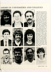 Oglethorpe University - Yamacraw Yearbook (Atlanta, GA) online yearbook collection, 1988 Edition, Page 189