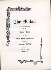 Ohio State University - Makio Yearbook (Columbus, OH) online yearbook collection, 1907 Edition, Page 4