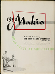 Ohio State University - Makio Yearbook (Columbus, OH) online yearbook collection, 1950 Edition, Page 6