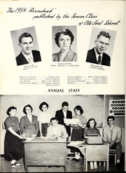 Old Fort High School - Arrowhead Yearbook (Old Fort, NC) online yearbook collection, 1954 Edition, Page 8