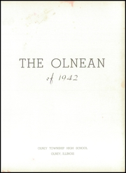Olney Area High School - Olnean Yearbook (Olney, IL) online yearbook collection, 1942 Edition, Page 5
