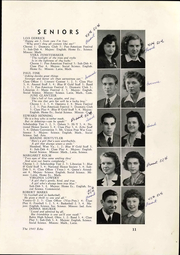 Osnaburg Township High School - Echo Yearbook (East Canton, OH) online yearbook collection, 1943 Edition, Page 17