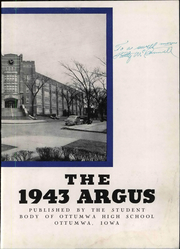 Ottumwa High School - Argus Yearbook (Ottumwa, IA) online yearbook collection, 1943 Edition, Page 9