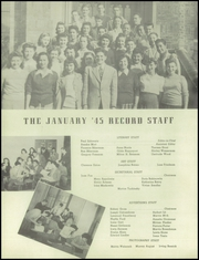 Overbrook High School - Record Yearbook (Philadelphia, PA) online yearbook collection, 1945 Edition, Page 12