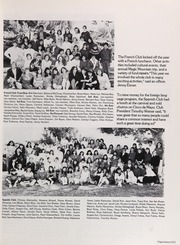 Palos Verdes High School - Triton Yearbook (Palos Verdes Estates, CA) online yearbook collection, 1987 Edition, Page 217