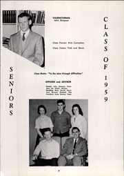 Paris High School - Chronicle Yearbook (South Paris, ME) online yearbook collection, 1959 Edition, Page 13