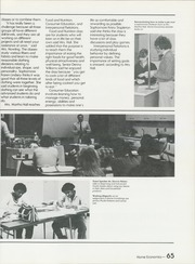 Peru High School - Narcissus Yearbook (Peru, IN) online yearbook collection, 1982 Edition, Page 69 of 182