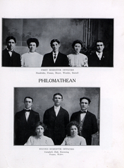 Peru State College - Peruvian Yearbook (Peru, NE) online yearbook collection, 1909 Edition, Page 115