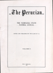 Peru State College - Peruvian Yearbook (Peru, NE) online yearbook collection, 1909 Edition, Page 3 of 254
