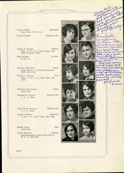 Peru State College - Peruvian Yearbook (Peru, NE) online yearbook collection, 1928 Edition, Page 71 of 222