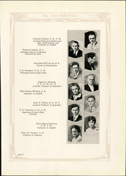 Peru State College - Peruvian Yearbook (Peru, NE) online yearbook collection, 1929 Edition, Page 19 of 230