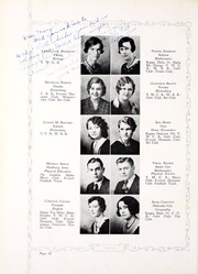 Peru State College - Peruvian Yearbook (Peru, NE) online yearbook collection, 1932 Edition, Page 42