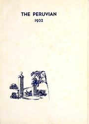 Peru State College - Peruvian Yearbook (Peru, NE) online yearbook collection, 1932 Edition, Page 5