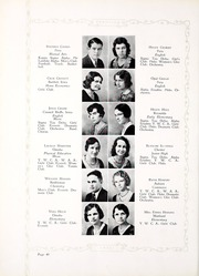 Peru State College - Peruvian Yearbook (Peru, NE) online yearbook collection, 1932 Edition, Page 50 of 212