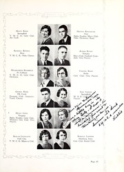 Peru State College - Peruvian Yearbook (Peru, NE) online yearbook collection, 1932 Edition, Page 65