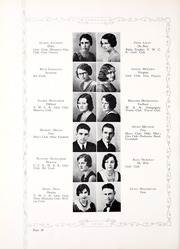 Peru State College - Peruvian Yearbook (Peru, NE) online yearbook collection, 1932 Edition, Page 66 of 212