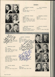 Peru State College - Peruvian Yearbook (Peru, NE) online yearbook collection, 1935 Edition, Page 58 of 166