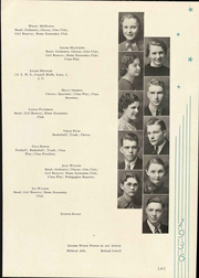 Peru State College - Peruvian Yearbook (Peru, NE) online yearbook collection, 1936 Edition, Page 101 of 156
