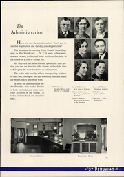 Peru State College - Peruvian Yearbook (Peru, NE) online yearbook collection, 1937 Edition, Page 43 of 152