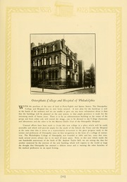 Philadelphia College of Osteopathic Medicine - Synapsis Yearbook (Philadelphia, PA) online yearbook collection, 1928 Edition, Page 17