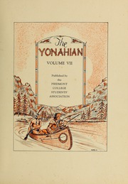 Piedmont College - Yonahian Yearbook (Demorest, GA) online yearbook collection, 1928 Edition, Page 7