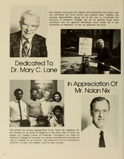 Piedmont College - Yonahian Yearbook (Demorest, GA) online yearbook collection, 1982 Edition, Page 8 of 136