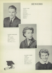 Pine Township High School - Eagle Yearbook (Otterbein, IN) online yearbook collection, 1956 Edition, Page 12