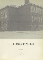 Pine Township High School - Eagle Yearbook (Otterbein, IN) online yearbook collection, 1956 Edition, Page 5
