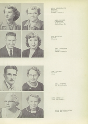 Pine Township High School - Eagle Yearbook (Otterbein, IN) online yearbook collection, 1956 Edition, Page 9