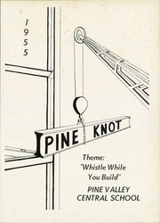 Pine Valley Central High School - Pine Knot Yearbook (South Dayton, NY) online yearbook collection, 1955 Edition, Page 5