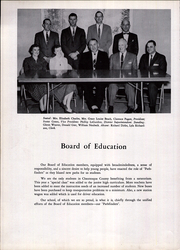 Pine Valley Central High School - Pine Knot Yearbook (South Dayton, NY) online yearbook collection, 1960 Edition, Page 12