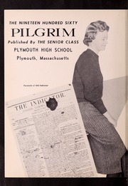 Plymouth High School - Pilgrim Yearbook (Plymouth, MA) online yearbook collection, 1960 Edition, Page 4