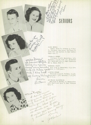 Port Gibson High School - Echoes Yearbook (Port Gibson, MS) online yearbook collection, 1950 Edition, Page 16