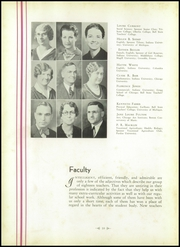 Portland High School - Tifoon Yearbook (Portland, IN) online yearbook collection, 1936 Edition, Page 14