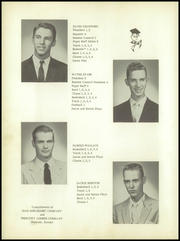 Prescott High School - Hornet Yearbook (Prescott, KS) online yearbook collection, 1957 Edition, Page 16