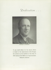 Presque Isle High School - Ship Yearbook (Presque Isle, ME) online yearbook collection, 1949 Edition, Page 7
