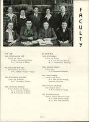 Princeton High School - Tiger Yearbook (Princeton, IL) online yearbook collection, 1943 Edition, Page 17