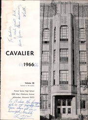 Pulaski High School - Cavalier Yearbook (Milwaukee, WI) online yearbook collection, 1966 Edition, Page 5