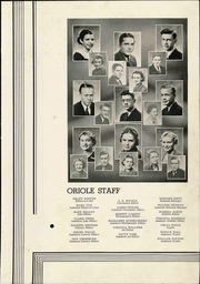 Pulaski High School - Oriole Yearbook (Pulaski, VA) online yearbook collection, 1936 Edition, Page 11
