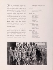 Pulaski High School - Oriole Yearbook (Pulaski, VA) online yearbook collection, 1940 Edition, Page 54