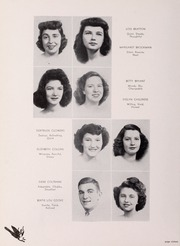 Pulaski High School - Oriole Yearbook (Pulaski, VA) online yearbook collection, 1945 Edition, Page 20 of 96