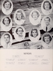 Pulaski High School - Oriole Yearbook (Pulaski, VA) online yearbook collection, 1952 Edition, Page 24 of 128
