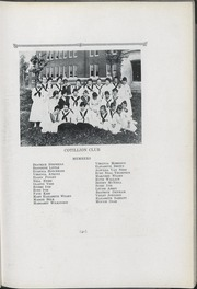 Queens University of Charlotte - Coronet / Edelweiss Yearbook (Charlotte, NC) online yearbook collection, 1918 Edition, Page 43