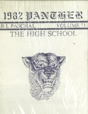 R L Paschal High School - Panther Yearbook (Fort Worth, TX) online yearbook collection, 1982 Edition, Page 1