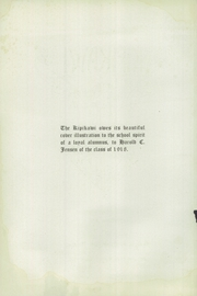 Page 6, 1921 Edition, Racine High School - Kipikawi Yearbook (Racine, WI) online yearbook collection