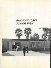 Page 6, 1973 Edition, Raymond Cree Middle School - Amistad Yearbook (Palm Springs, CA) online yearbook collection