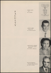 Reagan County High School - Owl Yearbook (Big Lake, TX) online yearbook collection, 1954 Edition, Page 13 of 120